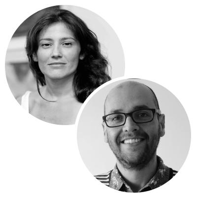 Daniela Abad Lombana y Francisco Saldarriaga
